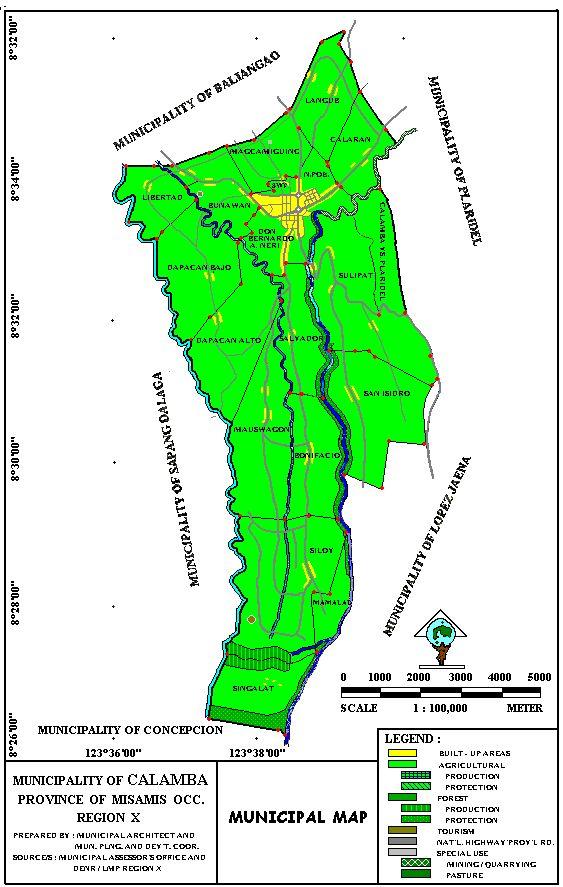 Map Location - Calamba city map